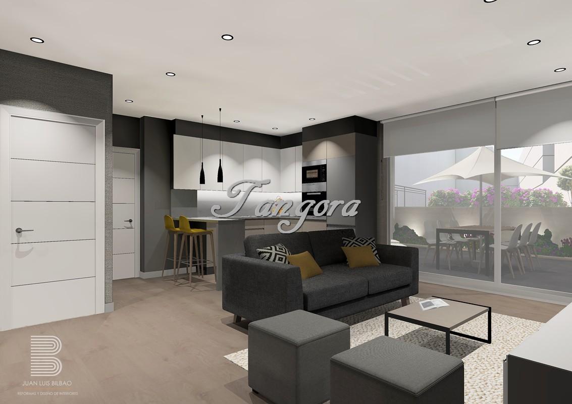 Precioso apartamento de nueva construcción con gran terraza en el centro de Algorta.