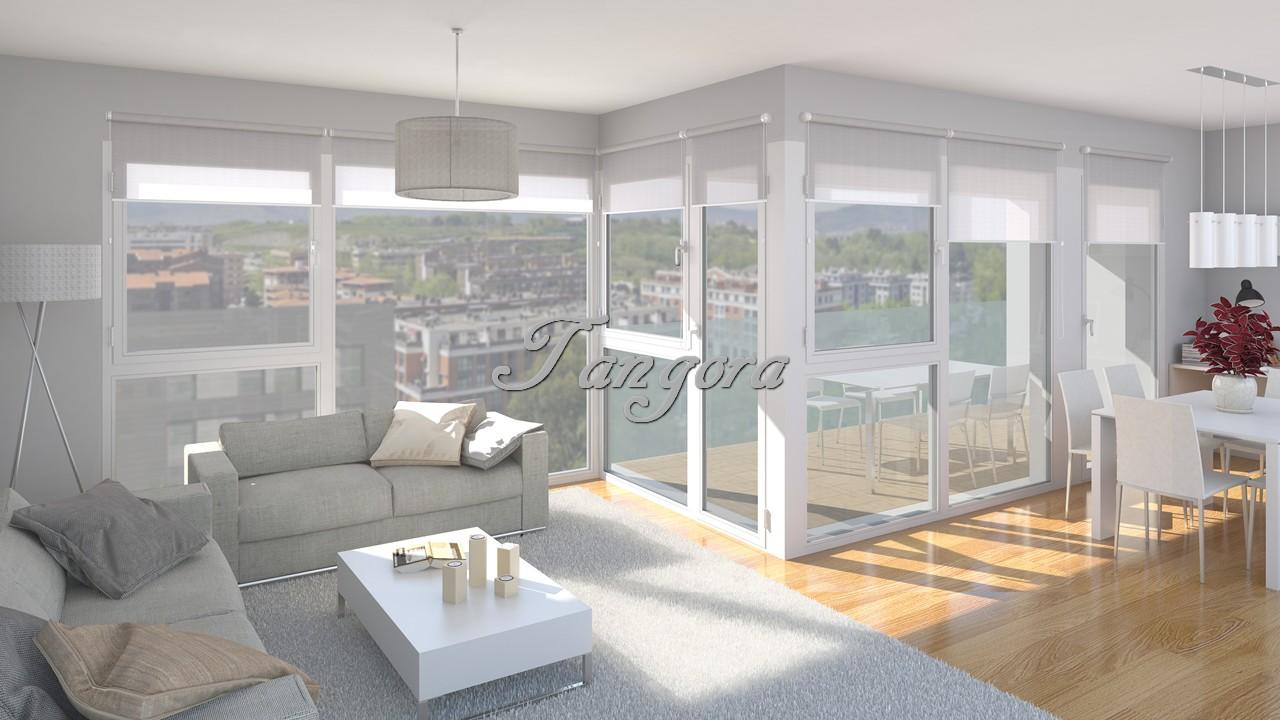 Amplio piso de 4 habitaciones con fantástica terraza de 15m² en la nueva zona de Leioandi, Leioa. Precios directos del promotor.