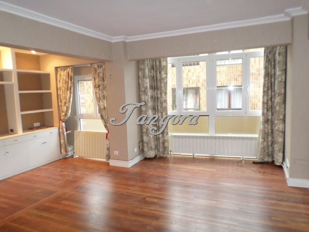 Precioso piso de dos habitaciones con gran salón en Txakursolo.