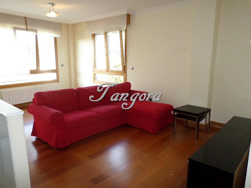 Se alquila precioso piso de dos habitaciones con gran bajocubierta en Algorta.
